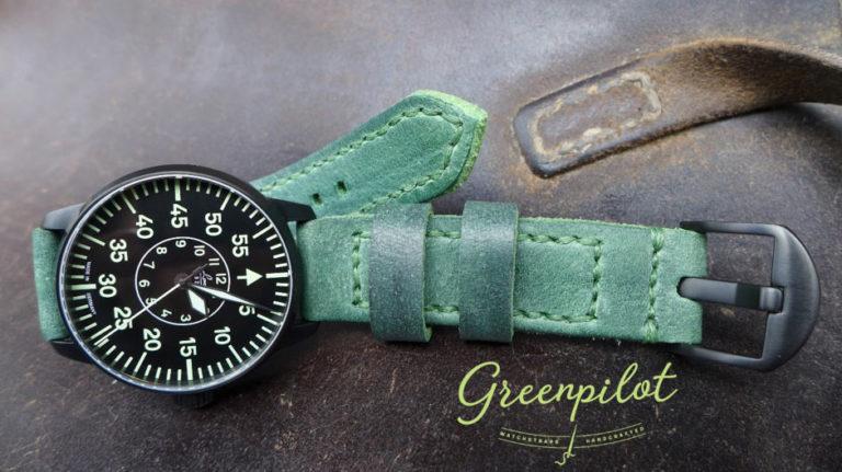 Greenpilot watchstraps Bestellinfos Frontbild