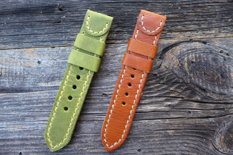 Greenpilot watchstraps Modelle solid line half circle