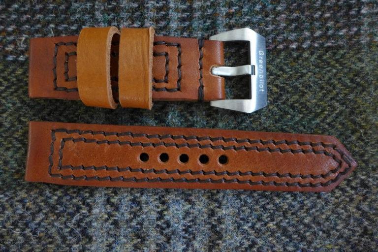 Greenpilot watchstraps Modelle true ancient vintage line double stitch true ancient Vintage Line