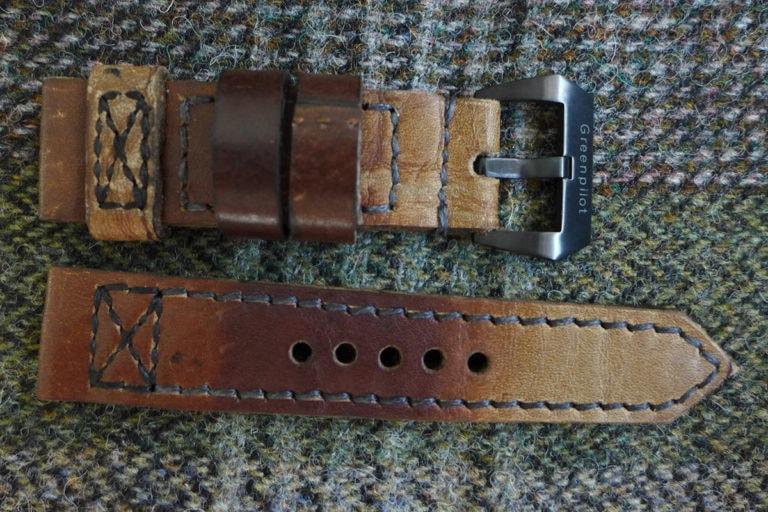 Greenpilot watchstraps Modelle true ancient vintage line taped pattern true ancient Vintage Line