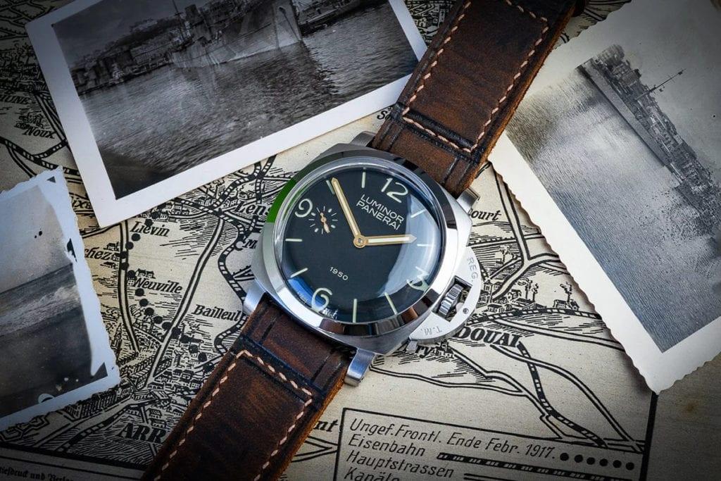 Greenpilot watchstraps Kollektion Classic Panerai Begleitbild 1