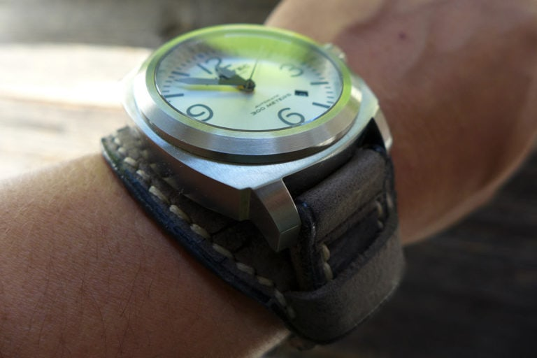 Greenpilot watchstraps Sondermodell Bundstrap GP 1 Muster Bild 1