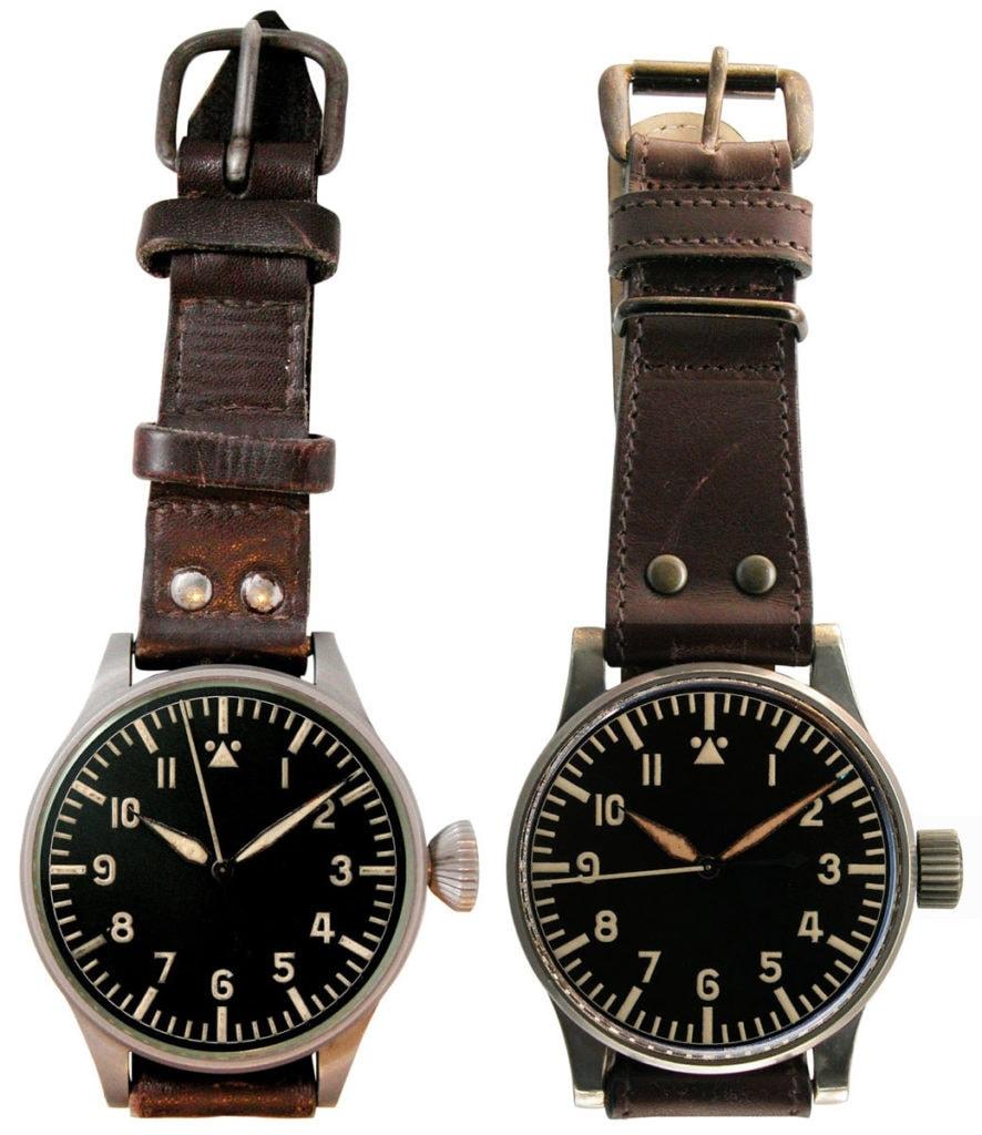 Greenpilot watchstraps Sondermodell Heritage Airman 2 Vorbild historische Beobachtungsuhren aus dem WW2