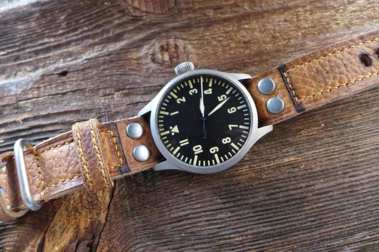 Greenpilot watchstraps Sondermodell Heritage Navigator 3 Bild 3