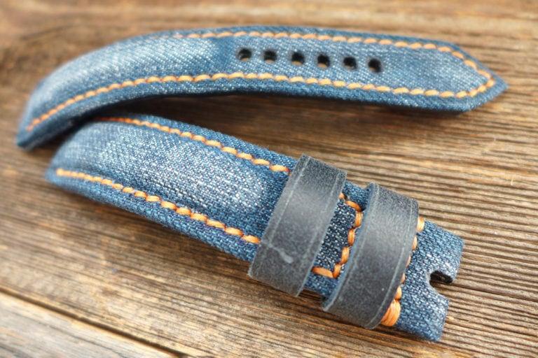 Greenpilot watchstraps Sondermodell Jeans Strap 1 Muster Bild 1