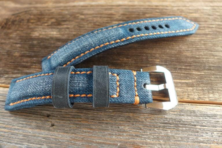 Greenpilot watchstraps Sondermodell Jeans Strap 1 Muster Bild 3