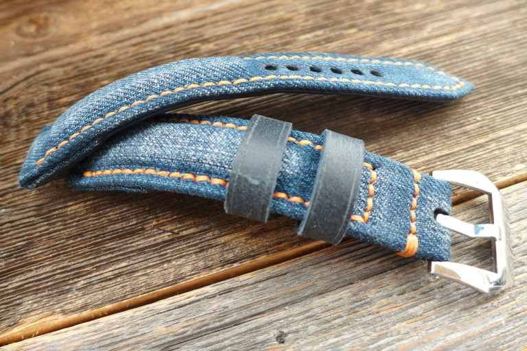 Greenpilot watchstraps Sondermodell Jeans Strap 1 Muster Bild 4