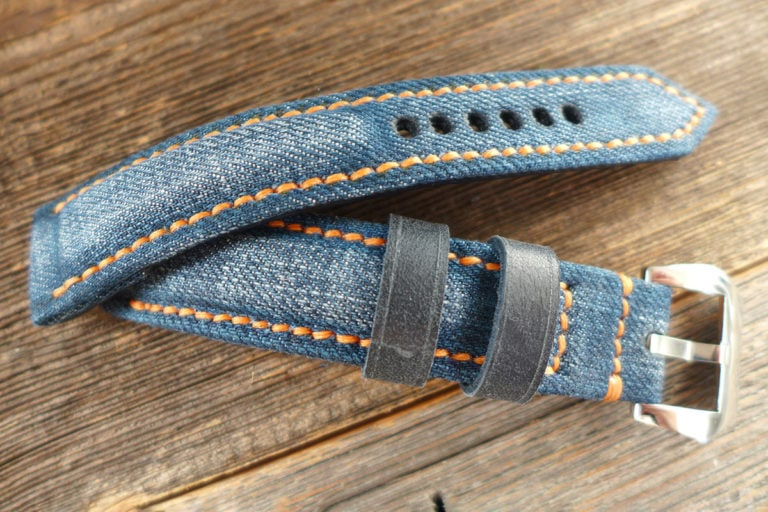 Greenpilot watchstraps Sondermodell Jeans Strap 1 Muster Bild 5