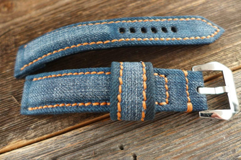 Greenpilot watchstraps Sondermodell Jeans Strap 1 Muster Bild 6