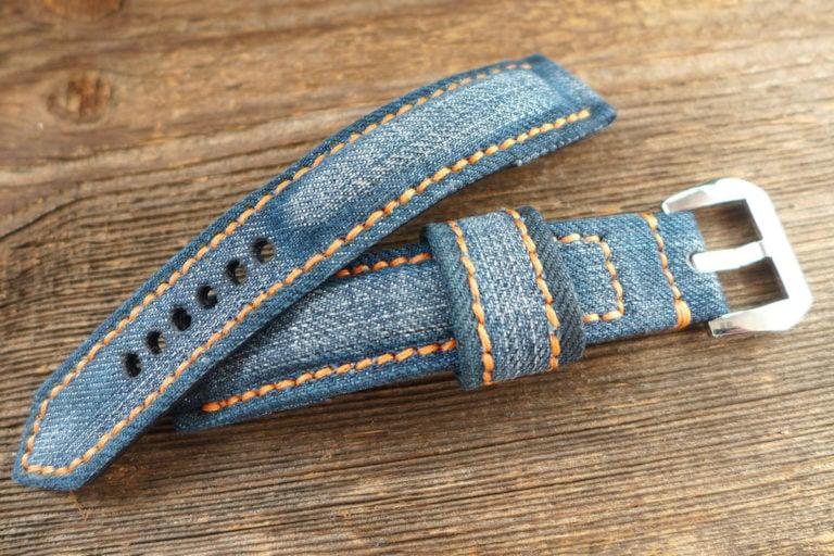 Greenpilot watchstraps Sondermodell Jeans Strap 1 Muster Bild 7