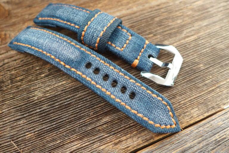 Greenpilot watchstraps Sondermodell Jeans Strap 1 Muster Bild 8