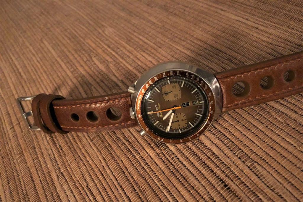 Greenpilot watchstraps Sondermodell Racer Vintage Padded 2 Zusatz 2
