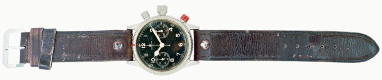 Greenpilot watchstraps Sondermodell historische Vorlage an einer Glashuette Flieger
