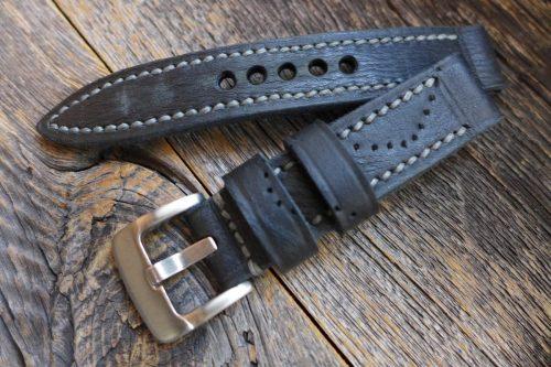 Greenpilot-watchstraps-Kollektion-true-ancient-Vintage-Line-x-Charcoal