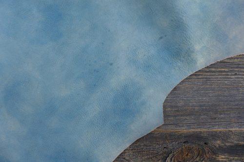 Greenpilot-watchstraps-Leder-Solid-Line-blau-jeansblue-sandblasted
