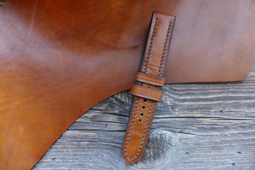 Greenpilot-watchstraps-Leder-Solid-Line-braun-copper-brown-NOS