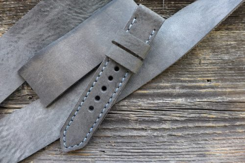 Greenpilot-watchstraps-Leder-Solid-Line-grau-graphit-grau