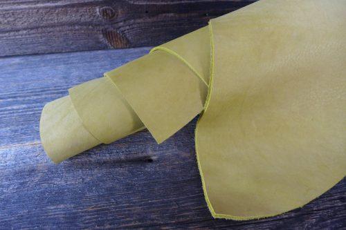 Greenpilot-watchstraps-Leder-classic-panerai-line-Horween-Yellow-Calico