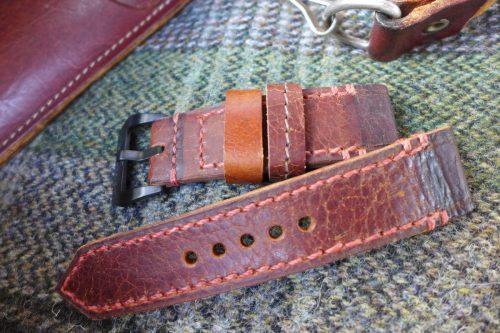 Greenpilot-watchstraps-Leder-true-ancient-vintage-line-oxblood-Aktentasche