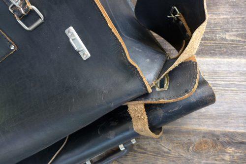 Greenpilot-watchstraps-Leder-true-ancient-vintage-line-raven-black-Werkzeugtasche