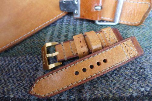 Greenpilot-watchstraps-Leder-true-ancient-vintage-line-soft-saddle-tan-Lehrertasche
